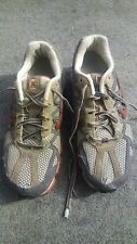 Nike Shox 313812-261 Running Sneakers Shoes Womens size 8.5 Gray Red Athletic