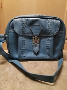 VINTAGE AMERICAN TOURISTER 1978 CARRY ON OVERNIGHT TRAVEL BAG ☆ SKY BLUE ☆