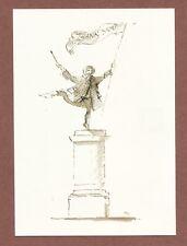 Hugh Casson design,  gentleman on Plinth,  Royal Academy London,  Carola   RK820