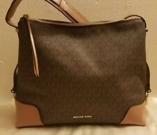 Michael Kors Crosby Acorn Leather Large Shoulder Bag Purse 30h8gcbl3l