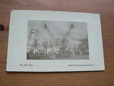 Imperial International Exhibition 1909 Postcard, The Flip Flap