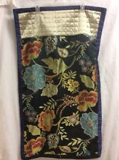 KING Pillow Sham Navy Blue Floral BETTER HOMES 1 Sham  GORGEOUS COLORS P4