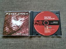 CD THE PETER GREEN COLLECTION - WATCHA GONNA DO - FLEETWOOD MAC - 12 TRACKS