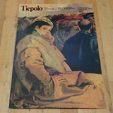 TIEPOLO poster manifesto affiche Arte Pittura Italia Venezia Palazzo Ducale 1979