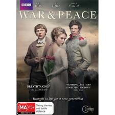 WAR & PEACE-Region 4-New AND Sealed-3 Discs Set-TV Series