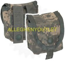 Lot of 2 ACU Digital Military MOLLE Hand Grenade Pouch / Molle Compass Pouch NEW