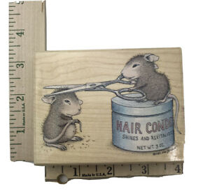 House Mouse 1989 Rubber Stamp Shear Delight (Friends) Stampabilities 2003