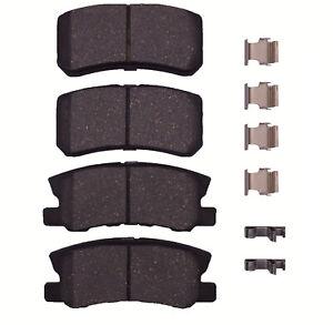 Disc Brake Pad Set-Ceramic Pads Rear Dash 4 Brake CD868