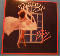 KROKUS THE BLITZ VINYL LP 1984 ORIGINAL PRESS METAL GREAT COND! VG++/VG++!!