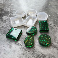 5pcs /Set Silicone Mould Resin Decoration Jewelry Making Mold Epoxy Resin Molds