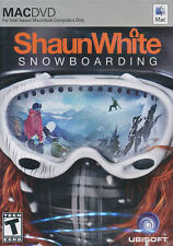 SHAUN WHITE SNOWBOARDING Shawn MAC Game OSX OS X NEW!