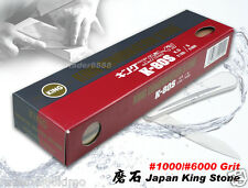 King Sharpening Stone 1000/6000 Grit  Combination Whetstone Japanese Cookware