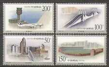 China 1998 Plane/Bridge/Stadium/Macau 4v set (n22841)