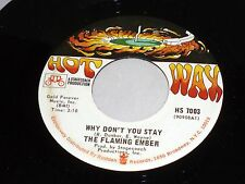 Flaming Ember: Why Don't You Stay / Westbound #9   [Unplayed Copy]