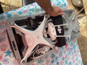 DJI Phantom 4 Advanced Ready to Fly Drone - White