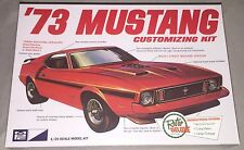 MPC '73 Ford Mustang 1/25 plastic model car kit new 846
