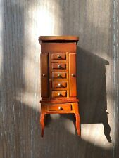 Brand New Heidi Ott Dollhouse Jewelry Cabinet #XY605M With Jewelry Inside