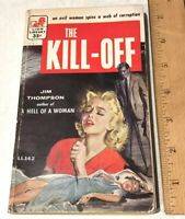 The Kill-Off by Jim Thompson 1957 Vintage Paperback PB Lion Library Books, Inc