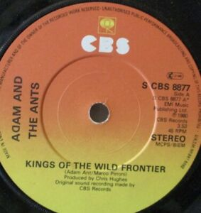 """ADAM & THE ANTS - Kings Of The Wild Frontier - 7"""" Single"""
