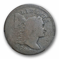 1796 1C Liberty Cap Large Cent PCGS G 6 Good to Very Good S 84 BW 5