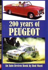 Book - Peugeot 201 301 202 402 203 403 204 404 104 304 504 205 505 Auto Review