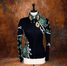 X-SMALL Showmanship Pleasure Horsemanship Show Jacket Shirt Rodeo Queen Western