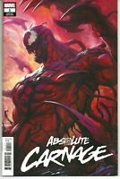 Absolute Carnage #1 (2019 Marvel) Artgerm Variant Edition Cover NM