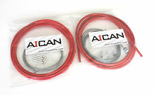 Aican Bike Shift Derailleur MTB Mountain cable housing set kit vs Jagwire, Red