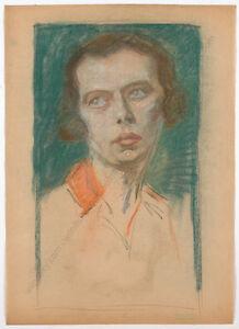 "Erwin Stolz (1896-1987) ""Female portrait"" The New Objectivity, ca. 1925"