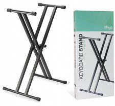 Stagg KXS-A6 Double Braced x Stand for Keyboard Keyboard Stand