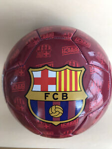 Fußball Ball rot/blau FC Barcelona Größe 5 offizielles Lizenzprodukt