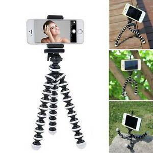 Universal Octopus Mobile Phone Holder Tripod Stand For iPhone Samsung Camera UK