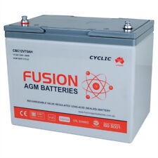 12v NS70 75AH DEEP CYCLE 4WD  BATTERY SSB FUSION CBC12V75AMP 75AH