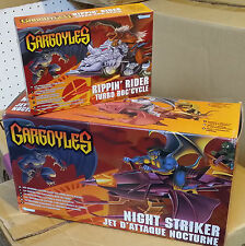 GARGOYLES NIGHT STRIKER JET d'attaque Nocturne e RIPPIN' RIDER TURBO ROC' CYCLE