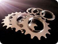 Fixed gear 13T 14T 15T 16T 17T 18T bike hub freewheel + fixed ring Cogs Lockring