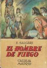 El hombre de fuego. Emilio Salgari