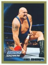 """BIG SHOW """"GOLD PARALLEL CARD 22 #18/50"""" TOPPS WWE 2010"""