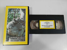MYSTERIES ANIMALS OF AUSTRALIA VHS TAPE TAPE NATIONAL GEOGRAPHIC VIDEO