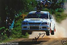 "Rally Driver Didier Auriol Hand Signed Photo Autograph Sokda 12x8"" K"