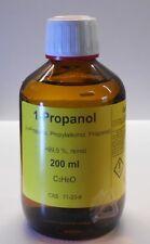 200 ml 1-propanol 99,5 %, n-propanol,Methanol rechange,désinfectant