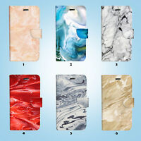 Marble Pattern Wallet Case Cover for iPhone XS MAX XR X 8 7 6 6S Plus SE 5S 023