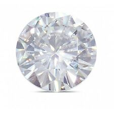 Fiona Solitaire 0.05 carat loose moissanite on piece HI VVS quality