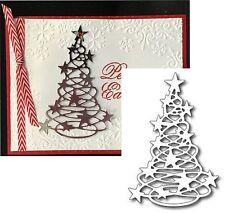 Christmas Tree Metal Die Cut Starlight Tree - Frantic Stamper Cutting Dies