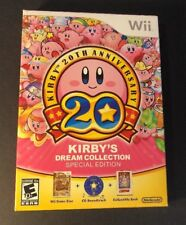 Kirby's Dream Collection [ Special Edition Artbook Package ] (Wii)