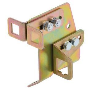 Edelbrock 8036 Throttle Cable Brackets, Steel, Small Block Chevy