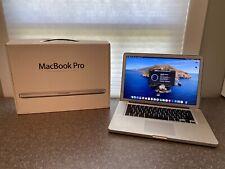 Macbook Pro 15-inch Antiglare - i7 - 8gb - 256GB SSD - Catalina - Original Box