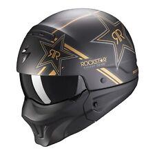 Scorpion EXO-COMBAT Evo SOLID Motorradhelm, Gr. XS - Mattschwarz (851001002)