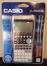 Casio FX-9860GII Graphing Calculator Permitted on SAT/ACT - New Sealed Package