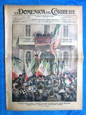 La Domenica del Corriere 27 novembre 1921 Margherita Savoia - Garda - Bergeggi