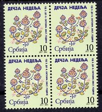 1169 - SERBIA 2017 -  Joy of Europe - Tax Stamps - MNH Block of 4